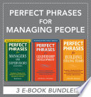 Perfect Phrases For Managing People Ebook Bundle