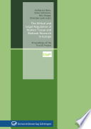 The Ethical and Legal Regulation of Human Tissue and Biobank Research in Europe Book