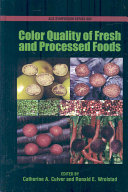 Color Quality Of Fresh And Processed Foods Book PDF