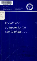 For All who Go Down to the Sea in Ships--
