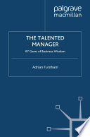 The Talented Manager Book PDF