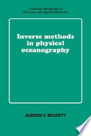 Inverse Methods in Physical Oceanography