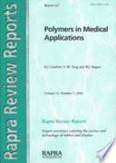 Polymers in Medical Applications
