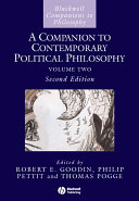 A Companion to Contemporary Political Philosophy - Seite 621