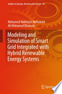 Modeling And Simulation Of Smart Grid Integrated With Hybrid Renewable Energy Systems Book PDF