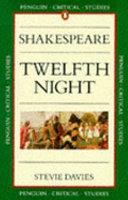 William Shakespeare  Twelfth Night Book