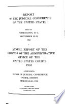 Annual Report Of The Director Of The Administrative Office Of The United States Courts