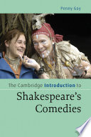 The Cambridge Introduction To Shakespeare S Comedies
