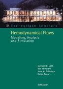 Hemodynamical Flows