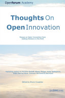 Thoughts on Open Innovation