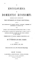 An Encyclop  dia of Domestic Economy