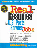 Real-resumes for United States Postal Service Jobs