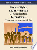 Human Rights and Information Communication Technologies: Trends and Consequences of Use