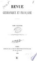 Revue germanique et française