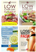 Low Carb Diet Box Set  Weight Loss Edition  Low Carb Recipes Fruit Infused Water Recipes Plus Lose Weight Fast