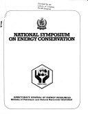 National Symposium on Energy Conservation