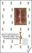 Muster und Funktionen kultureller Selbst- und Fremdwahrnehmung