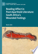 Reading Affect in Post Apartheid Literature