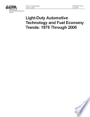 LightDuty Automotive Technology and Fuel Economy Trends19752005