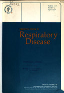 The American Review Of Respiratory Disease