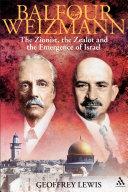 Balfour and Weizmann Pdf/ePub eBook