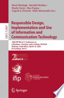 Responsible Design, Implementation and Use of Information and Communication Technology