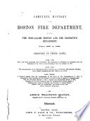 A Complete History of the Boston Fire Department Book