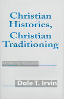 Christian Histories  Christian Traditioning