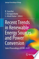 Recent Trends in Renewable Energy Sources and Power Conversion Book