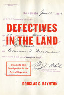 Defectives in the Land