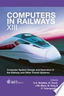 Computers in Railways XIII