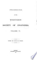 Proceedings of the Western Society of Engineers Book PDF