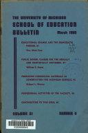 School Of Education Bulletin