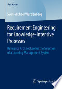 Requirement Engineering For Knowledge Intensive Processes Book PDF