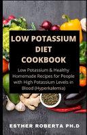 Low Potassium Diet Cookbook