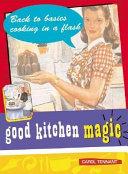 Good Kitchen Magic Book