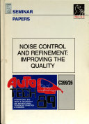 Noise Control And Refinement Book PDF