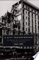 A City Transformed: Redevelopment, Race, and Suburbanization in Lancaster, Pennsylvania, 1940Ð1980