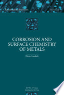 Corrosion And Surface Chemistry Of Metals Book PDF