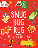 Sticker and Draw Snug  Bug  Rug