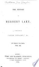 The History of Herbert Lake