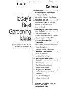 Today's best gardening ideas