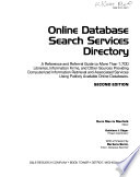 Online Database Search Services Directory
