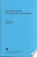 Economic Policies for Sustainable Development