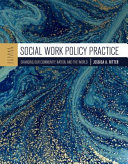 Social Work Policy Practice Book