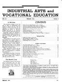 Industrial Arts   Vocational Education