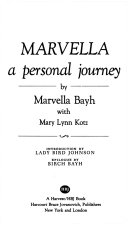 Marvella  a Personal Journey Book PDF