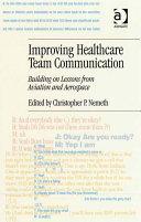 Pdf Improving Healthcare Team Communication