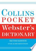 Collins Pocket Webster's Dictionary, 2e