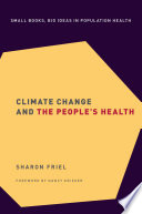 Climate Change And The People S Health Book PDF